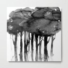 Tree Impressions No. 2K by Kathy Morton Stanion Metal Print