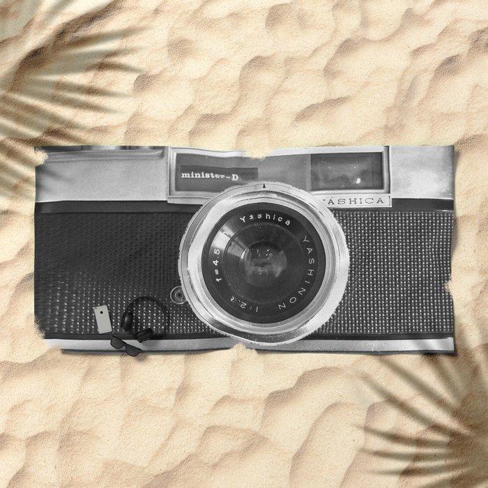 Camera Beach Towel