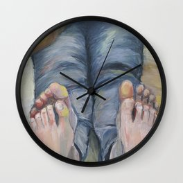 Boko maru painting Wall Clock