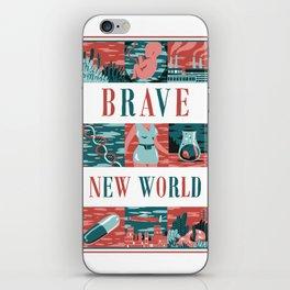Brave New World iPhone Skin