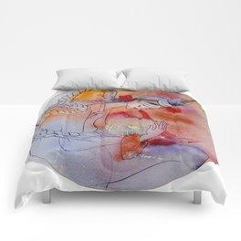 Super Blue Blood Moon Comforters