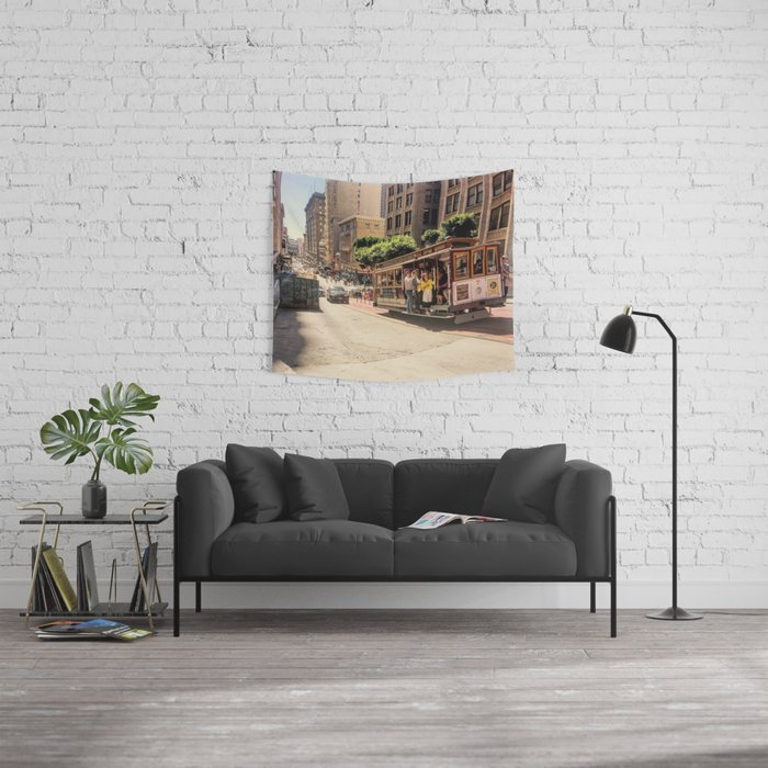 Downtown SF Wall Tapestry