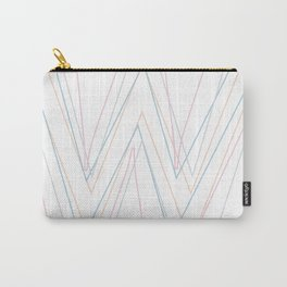 Intertwined Strength and Elegance of the Letter W Carry-All Pouch