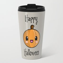 Happy Halloween Pumpkin Kawaii :) Travel Mug