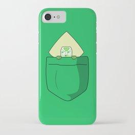 Peridot Pocket Tee iPhone Case