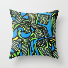 Cold Nonsense Throw Pillow