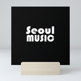 Seoul Music Mini Art Print