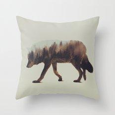 Norwegian Woods: The Wolf Throw Pillow