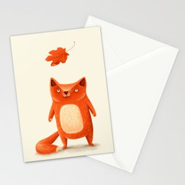 I am autumn (2) Stationery Cards