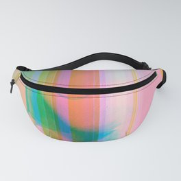 09-10-87 (rainbow painting glitch 008) Fanny Pack
