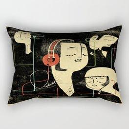 乐 Music Lovers / Vintage Rectangular Pillow