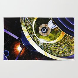 Cutaway View, Bernal Sphere Rug