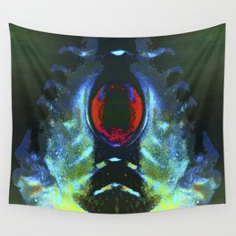 mindful journey through holographic memories Wall Tapestry