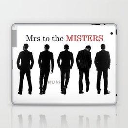 Mr. Mysterious by JA Huss Laptop & iPad Skin