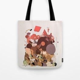organic infographics Tote Bag