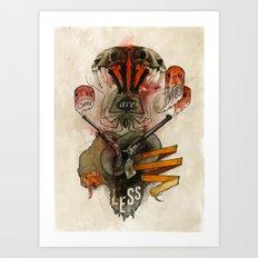 The Destroyer Art Print