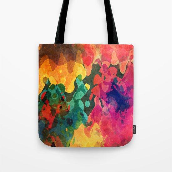 Color y psicodelia Tote Bag