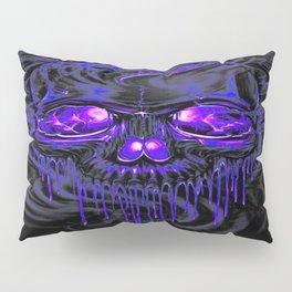 Purple Nurpel Skeletons Pillow Sham