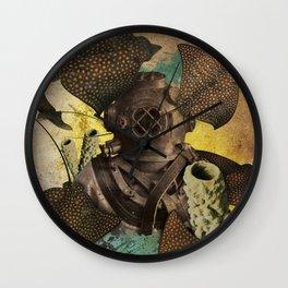 Mantas Wall Clock