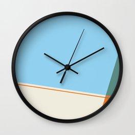 Poolside Shadow Wall Clock