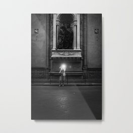 MOMENT FROZEN Metal Print