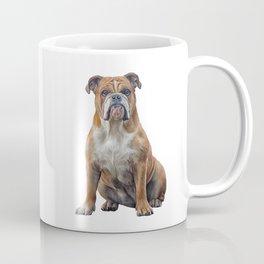 Drawing dog breed English Bulldog Coffee Mug