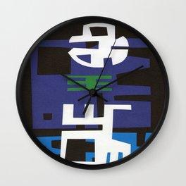 LUNA LLENA EN EL PUEBLO Wall Clock