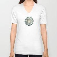 """zodiac V-neck T-shirts featuring """"Zodiac"""" by DiegoC"""