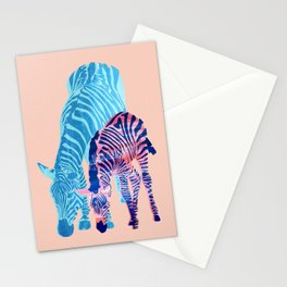 Striped Love Stationery Cards