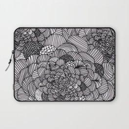 Ink flowers Laptop Sleeve