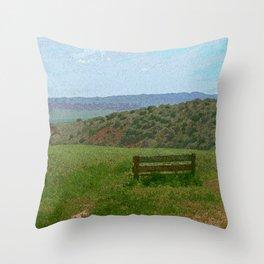 The Bench Throw Pillow