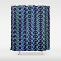 neon Shower Curtains featuring NEON by Wagner Campelo