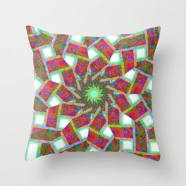 celtic mandala art Throw Pillow