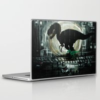 dinosaur Laptop & iPad Skins featuring dinosaur by mass confusion