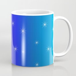 Starry Starry Blue Night Coffee Mug