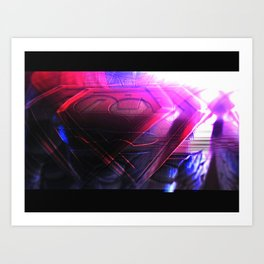 Superhuman  #2 Art Print