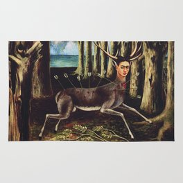 Frida Kahlo Deer Rug