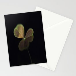 Oxalis in light Stationery Cards