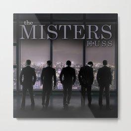 The Misters by JA Huss Metal Print