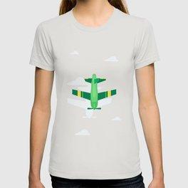Green Plane High Sky T-shirt