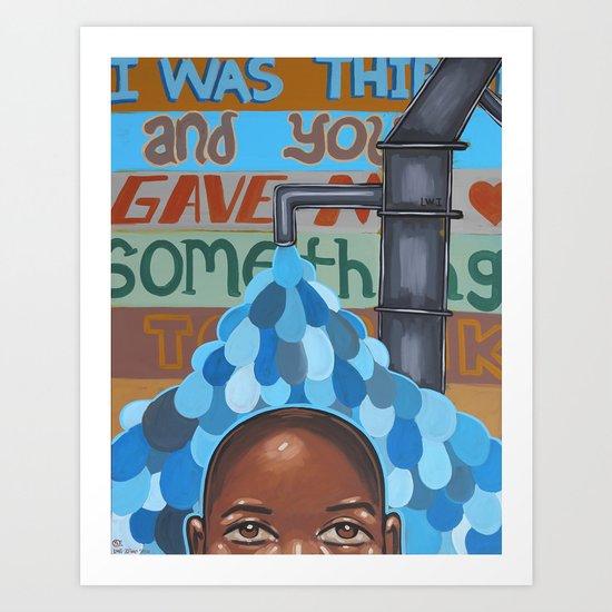 Haiti Gala Art Print