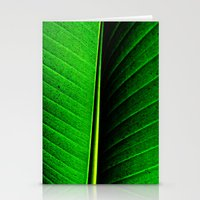 leaf Stationery Cards featuring Leaf by Melanie Ann