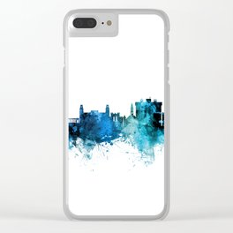Fayetteville Arkansas Skyline Clear iPhone Case