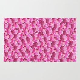 Pink Painter (Minimal Abstract) Rug