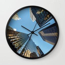 Downtown Vertigo Wall Clock