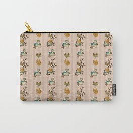 Fox with stripes Carry-All Pouch