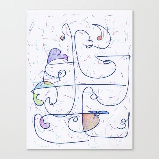 Hybrid 2 Canvas Print