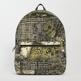 Vintage Map of San Francisco, California Backpack