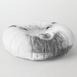 Sheep - Black & White Floor Pillow