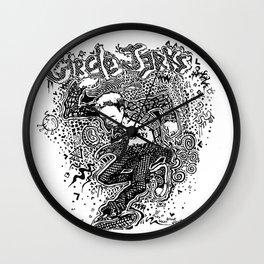 Circle Jerks Wall Clock